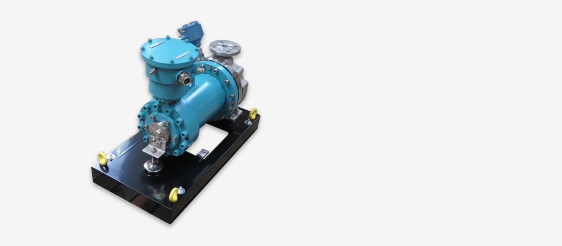 05 - Pompe rotor noyé - iso 15783 - optimex bf1166